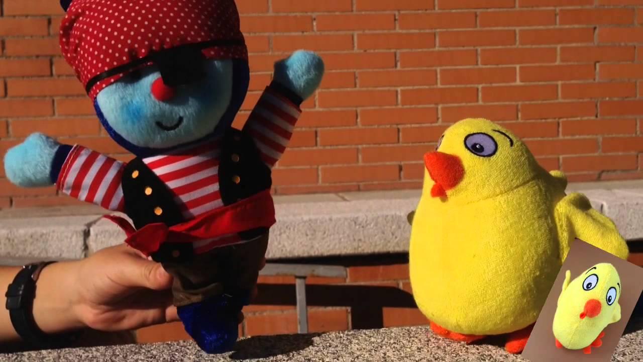 """El Pollo Pepe y Pupi cantan """"Un elefante, se balanceaba"""""""