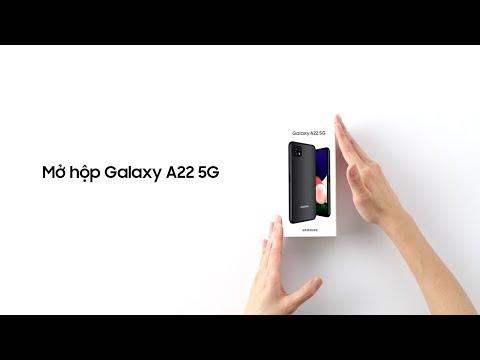 Mở hộp Galaxy A22 5G: Đón đầu công nghệ 5G thời thượng | Samsung