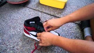 "Air Jordan 1 ""Old Love"" FULL Restoration Time Lapse! WATCH IN HD!"