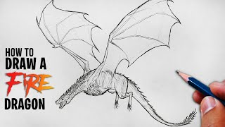 How To Draw A Dragon Easily | Step By Step Tutorial For Beginners