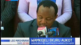 Wabunge wamkejeli Ekuru Aukot na kuwapongeza wawakilishi wadi kwa kupinga mswada wa Punguza Mzigo