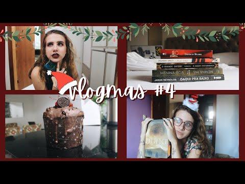ultimo vlogmas, natal, presentes e booktag | 2020