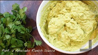 Homemade Avocado Ranch Dressing  PT 2. How to make Avocado Ranch Dressing