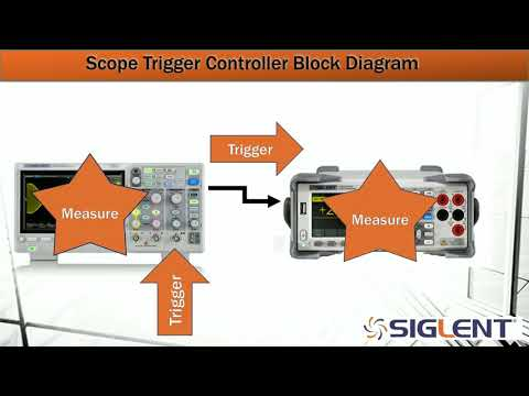 Triggering Instruments with an Oscilloscope
