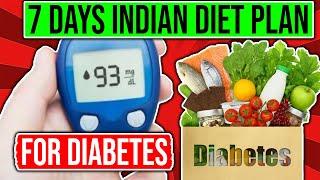 Type 2 Diabetic Diet Plan In Hindi | Diabetes Diet Chart Routine For 1 Week