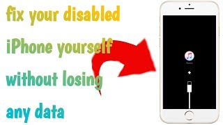 How to fix disabled iPhone without losing any data /repair any iPhone without losing data
