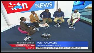 Church leaders call for peaceful campaigns and credible elections, urge Kenyans to remain united