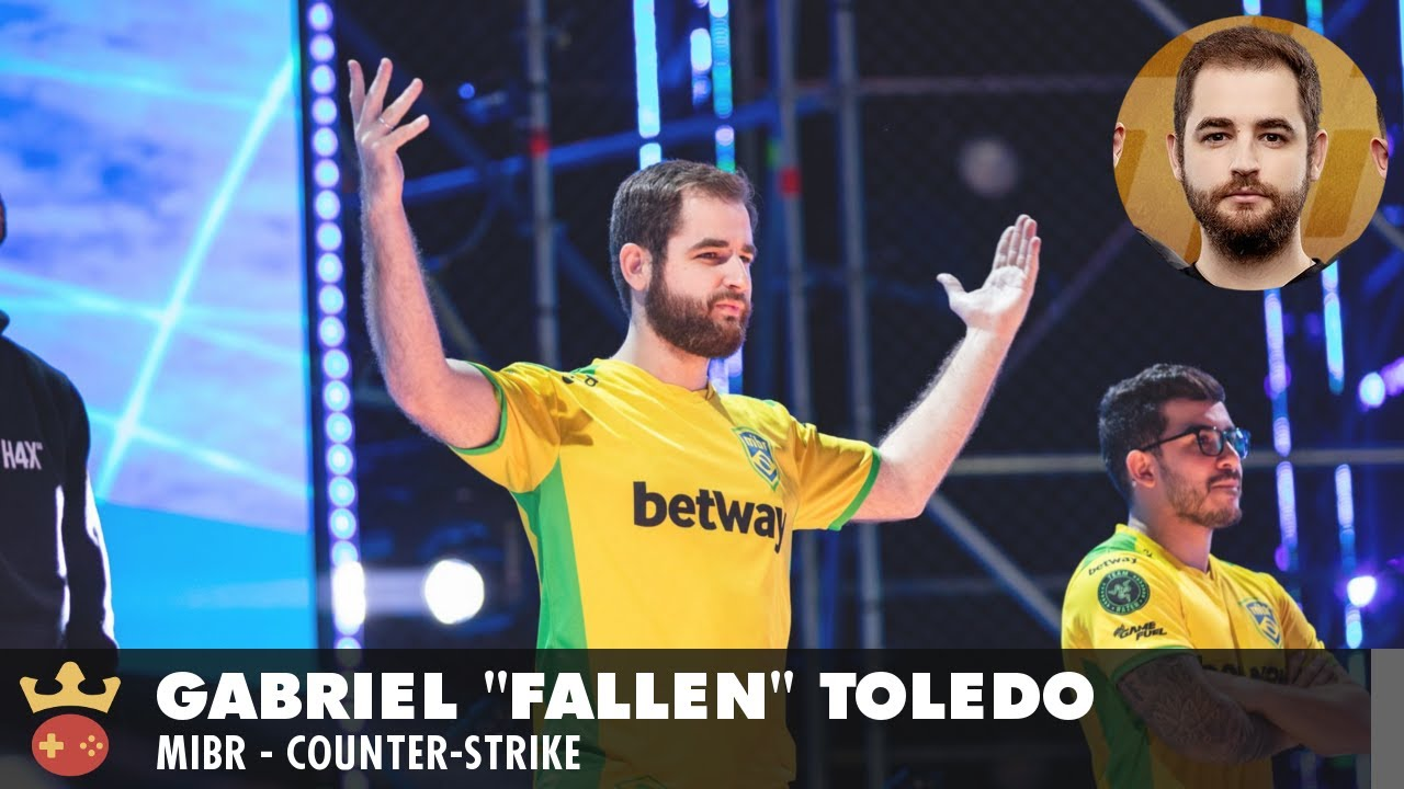 Video of Interview with MIBR's FalleN at IEM Sydney 2019