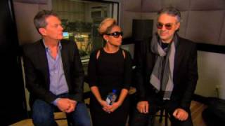 52nd Grammy Awards - Mary J. Blige and Andrea Bocelli