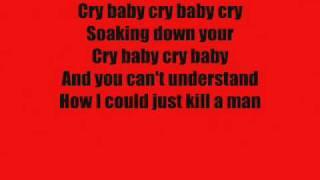 "★★ Charlotte Sometimes ""How I Could Just Kill A Man"" Lyrics"