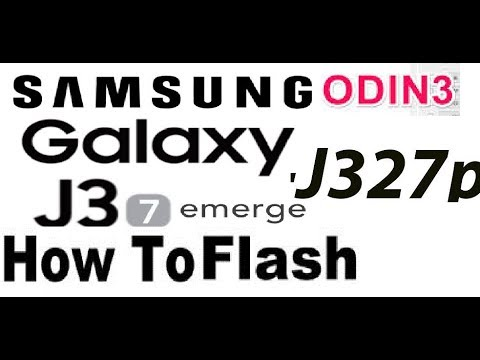 samsung SM-J327P ODIN Flash failed error fix - смотреть онлайн на