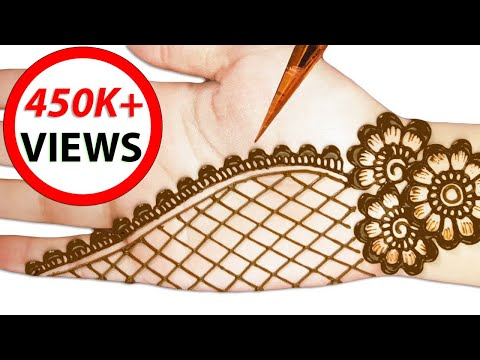 Henna designs | easy and simple mehndi designs for hands