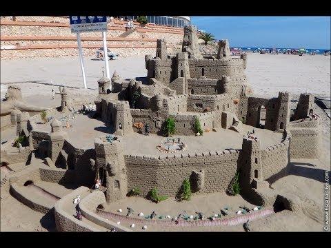 , title : 'Замки и фигуры из песка на пляже в Испании, Orihuela Costa, La Zenia'
