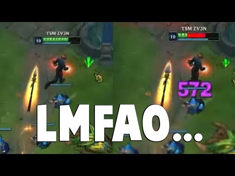 Watching Zven Getting Destroyed By Hitboxes Is Hilarious | Funny LoL Series #477