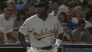 Miguel Tejada Gets Triple For First Major League Hit