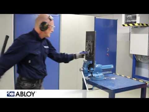 Testing Abloy padlock PL350
