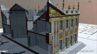 preview picture of video 'Visite virtuelle / Château de Marly - Versailles'