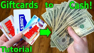 How to Sell Gift Card for Cash | Easiest Way to Get Most Money from Selling GiftCards!