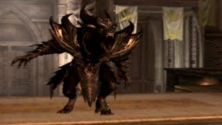 Skyrim Mod of the Day - Episode 98: Daedric Werewolf Lord Armor Form/Flame Atronach Armor