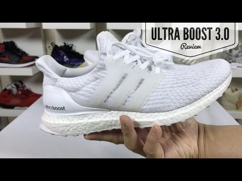 BEST ONE YET! ADIDAS ULTRA BOOST 3.0 REVIEW (COMPARE TO 1.0 & 2.0)