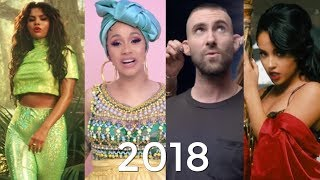 Top 100 Canciones Más Vistos En Youtube Del 2018