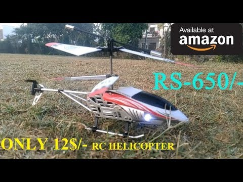 Best RC Helicopter Under 650 Rupees | 3.5 Channel LED – Unboxing & Testing | YT TECHNO TECH GURUJI