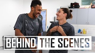 Arsenal stars return for pre-season training   Exclusive behind the scenes