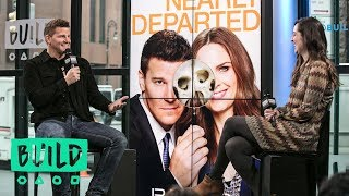 """David Boreanaz Discusses His Fox Hit Show, """"Bones"""""""