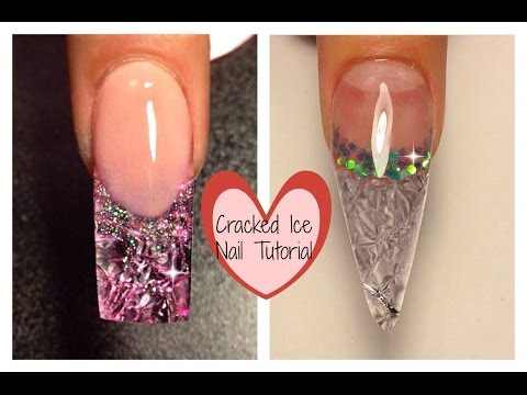 TheNailsQueen Cracked Ice Nail Tutorial