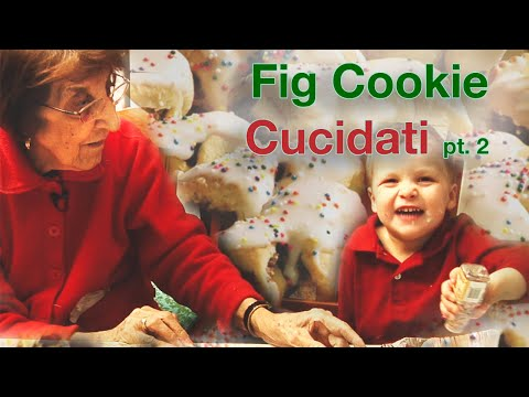 Holiday Cooking: Sicilian Fig Cookies – Part II