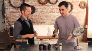 How To: Use a Badger Hair Shaving Brush
