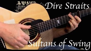 Kelly Valleau - Sultans of Swing (Dire Straits) - Fingerstyle Guitar
