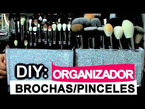 DIY: ORGANIZADOR BROCHAS/PINCELES