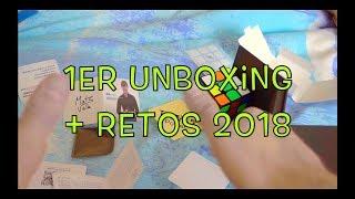 PRIMER UNBOXING | RETOS para 2018 | WanMinut