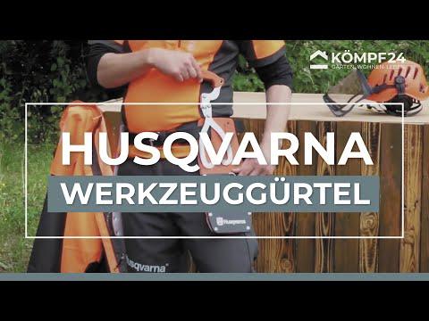 Husqvarna Werkzeuggürtel mit großem Zubehör