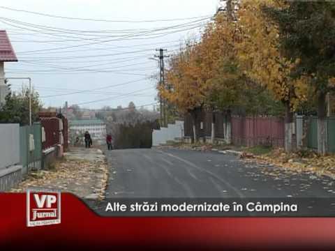 Alte străzi modernizate în Câmpina