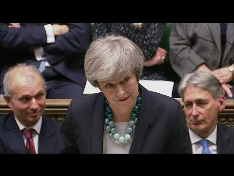 """British Prime Minister Theresa May postponed Parliament's vote on her Brexit deal with the European Union, acknowledging it would have been defeated by a """"significant margin."""" The move throws Britain's Brexit plans into chaos. (Dec. 10)"""