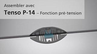 Ferrements d'assemblage LAMELLO TENSO P-14 avec fonction pré-tension