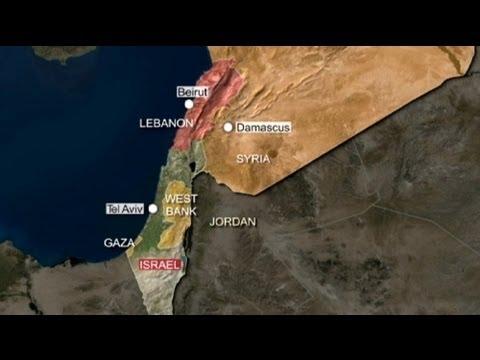 Israel ataca un objetivo en la frontera sirio libanesa