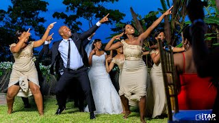 Sho Madjozi's 'John Cena' best wedding dance