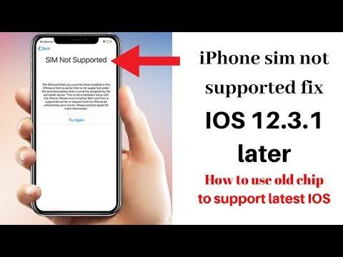 RSIM 12, 12+, 14 - New ICCID Code - June 13, 2019 (Unlock Any iPhone