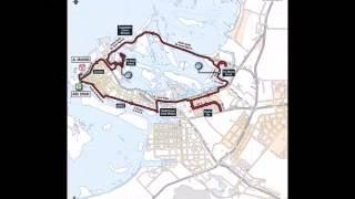 Maps of THE ABU DHABI Ride WorldTour @rcssport @Abudhabi @Emirates