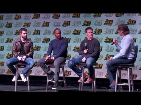 Sebastian Stan, Chris Evans And Anthony Mackie At ACE Comic Con Mp3