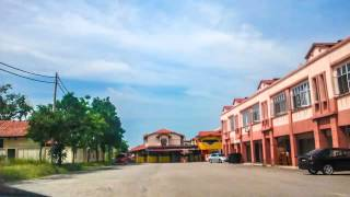 preview picture of video 'Driving at Kota Kubang Labu - Timelapse'