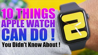 15 Things The Apple Watch CAN DO You Didn't Know About !