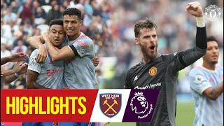 De Gea wins dramatic match for Reds after Ronaldo goal & Lingard stunner | West Ham 1-2 Man Utd