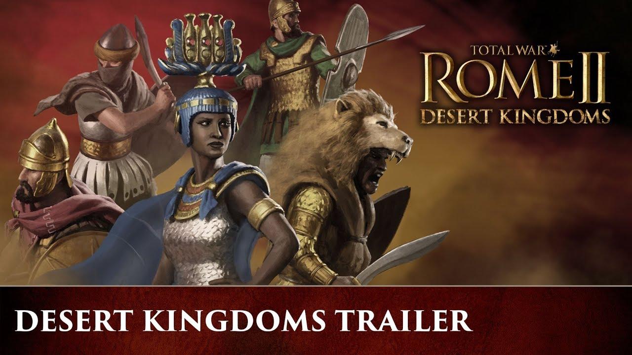 Trailer di Total War Rome II - Desert Kingdoms