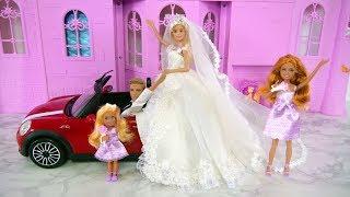Barbie I Can Be A Bride Wedding Gift Set Wedding Dress Barbie gaun pengantin Vestido de casamento