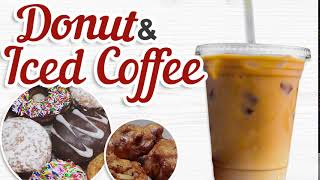 Maple City Bakery - Iced Coffee And Donut Special