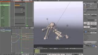 Blender Landing Animation Tutorial